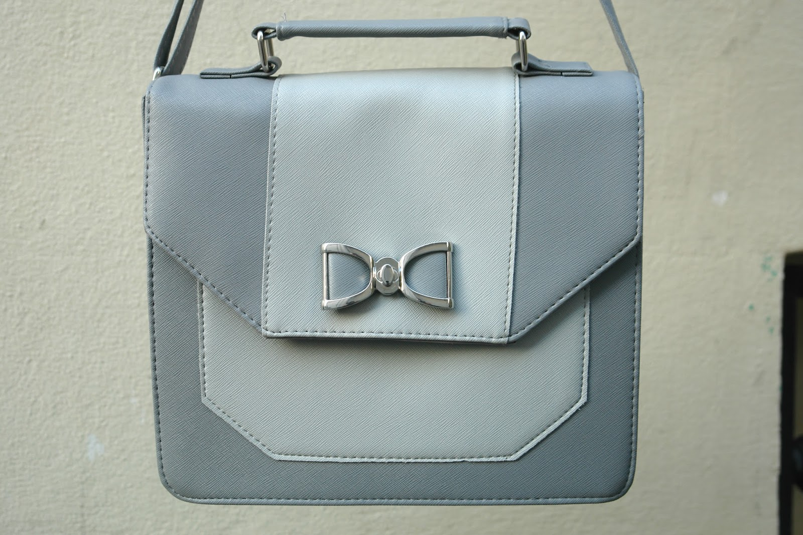 Primark grey satchel bag, fashion blog, blogger