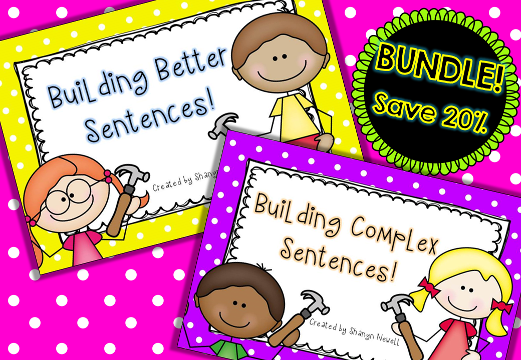 http://www.teacherspayteachers.com/Product/Building-Better-Sentences-BUNDLE-933652