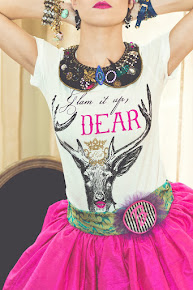 Glam it up Dear Tee