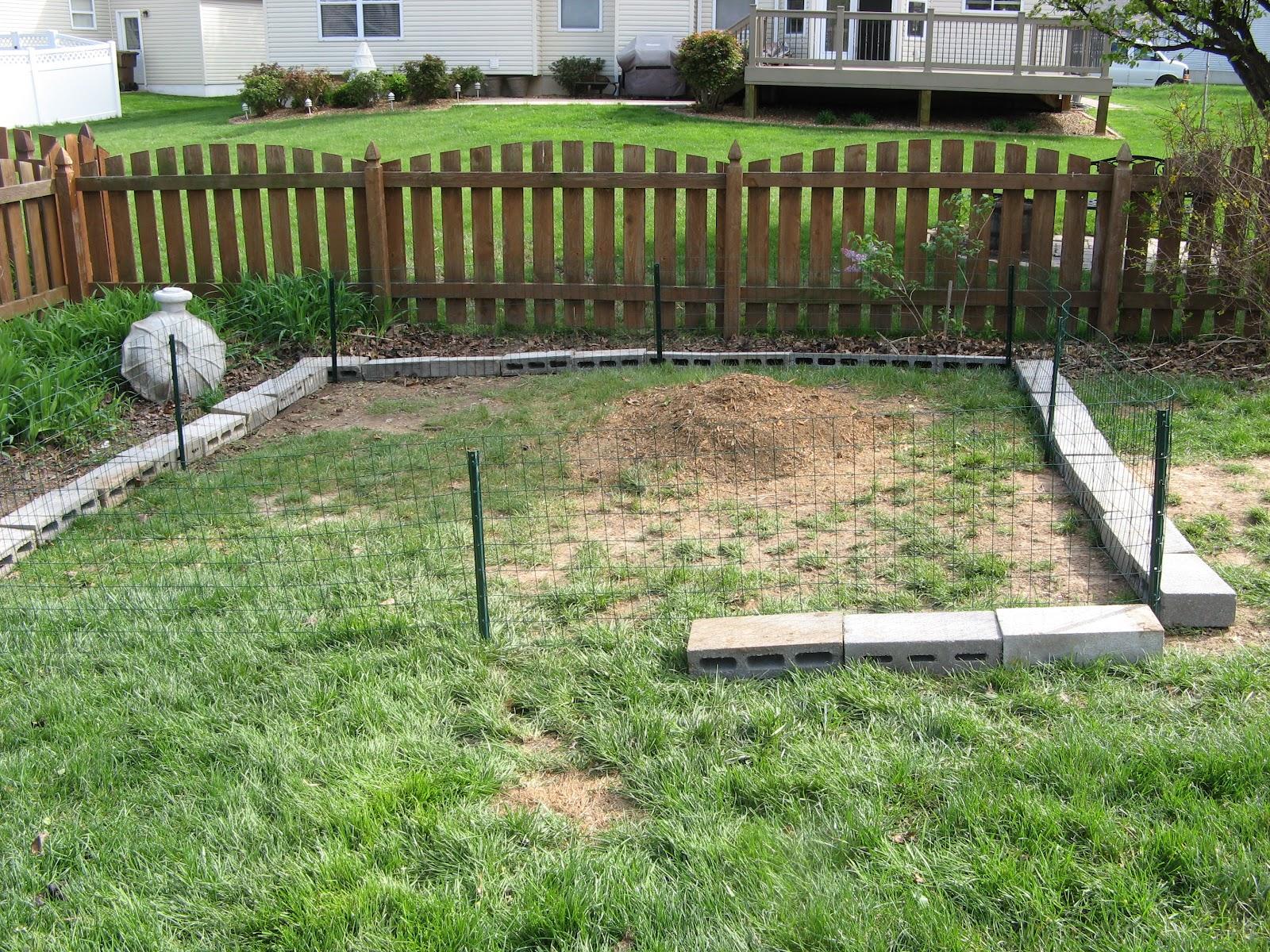 Vegetable Garden Fence Ideas Rabbits I Purchased Some Rabbit