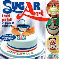 saya di majalah Sugar Art  (Italy)