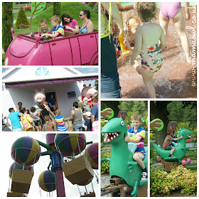 Family fun at Peppa Pig World