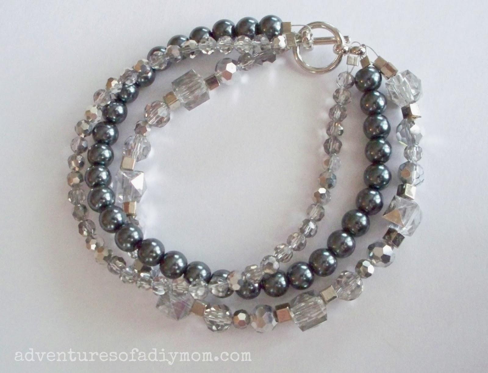 How to Make a Three Stranded Bracelet - Adventures of a DIY Mom