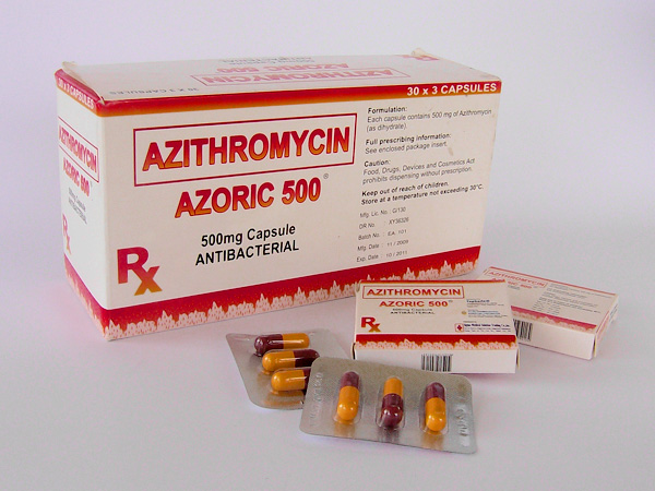 Azithromycin 500mg single dose