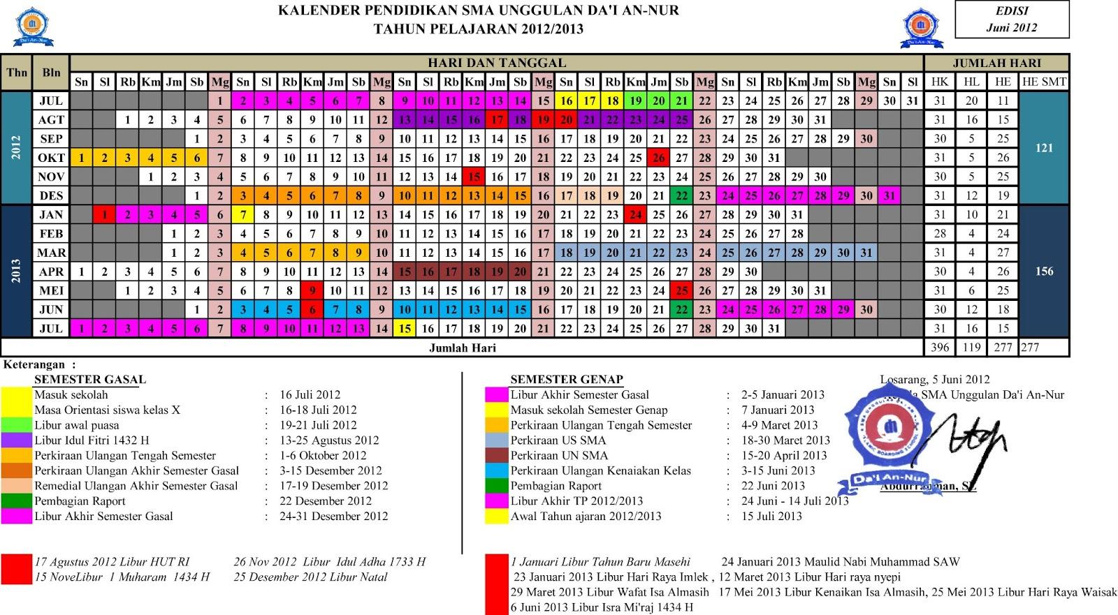format 2012 akademik jawa exe libur kalender pendidikan 20131 150x150