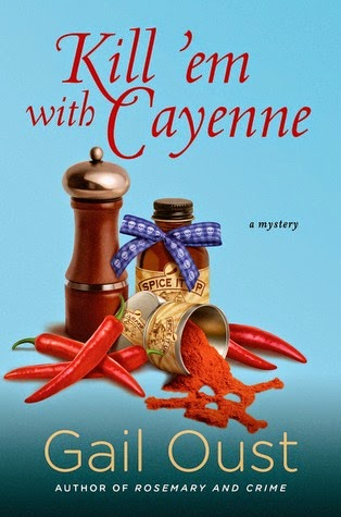 https://www.goodreads.com/book/show/20575442-kill-em-with-cayenne
