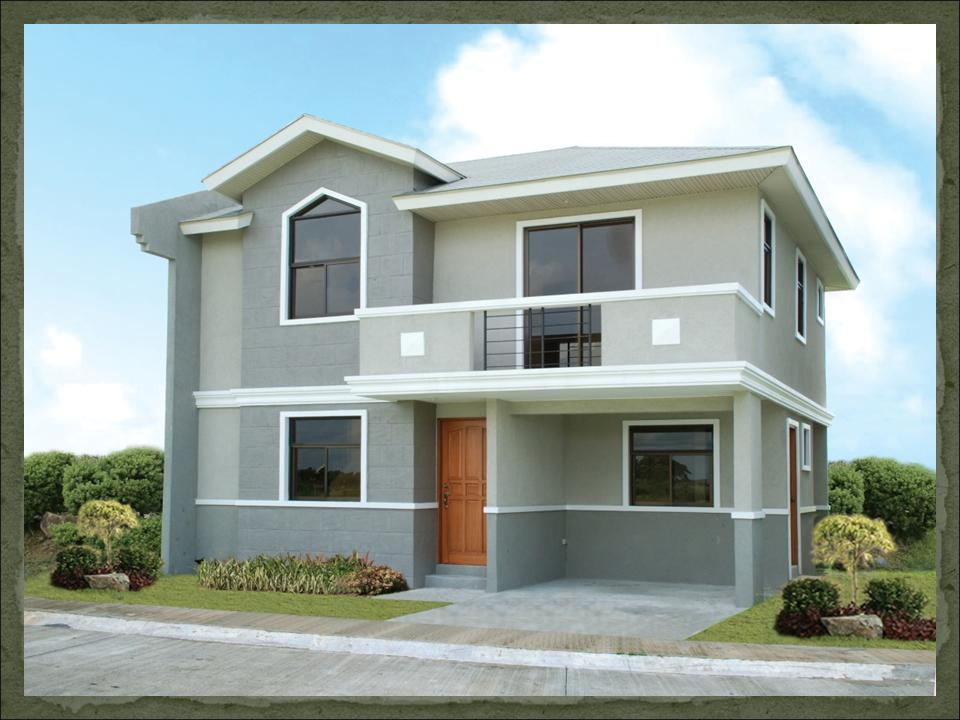 Olivia dream home design of lb lapuz architects builders for Home designs philippines