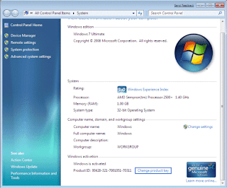 Reset Windows Activation/ ­Remove license key