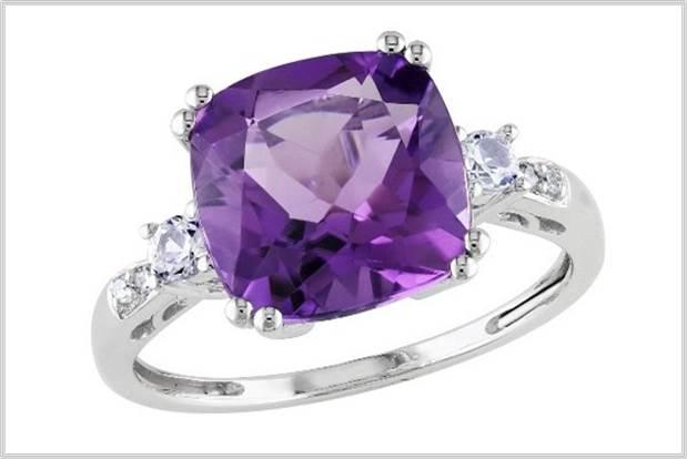 Sydney Fashion Hunter - Perfectly Purple - Amethyst Ring