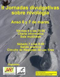 II Jornadas de nivología. Ansó 2015