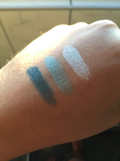 Misslyn 7 Shades of Blue Eyeshadow Lidschatten Blau
