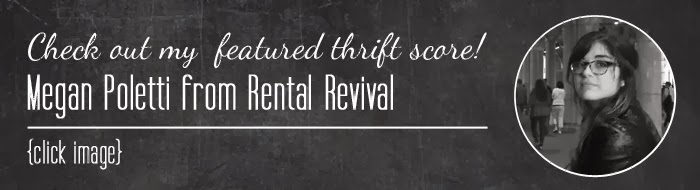 #thriftscorethursday Megan's treasures from Rental Revival