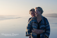 Shannon Hager Photography, Beach Sunset, Couples Portrait