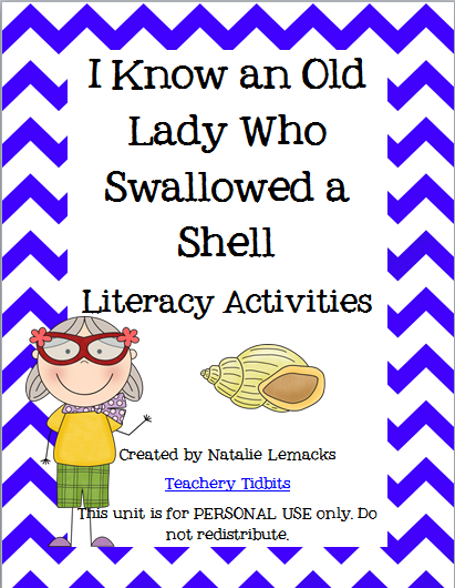 http://www.teacherspayteachers.com/Product/Granny-Swallowed-a-Shell-237149