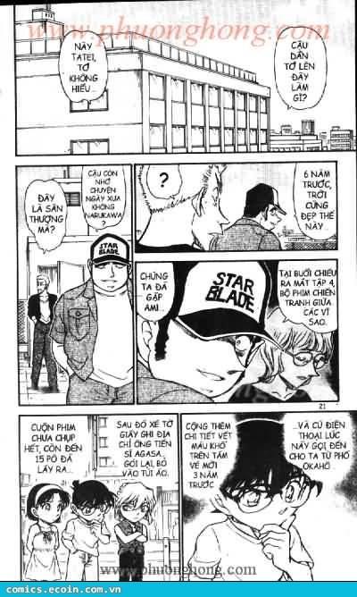 Detective Conan - Thám Tử Lừng Danh Conan chap 533 page 17 - IZTruyenTranh.com
