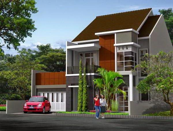 Desain Rumah Minimalis 2 Lantai Luas Tanah 180