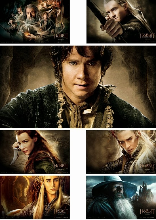 The Hobbit 2 The Desolation of Smaug Theme For Windows 7 And 8 8.1