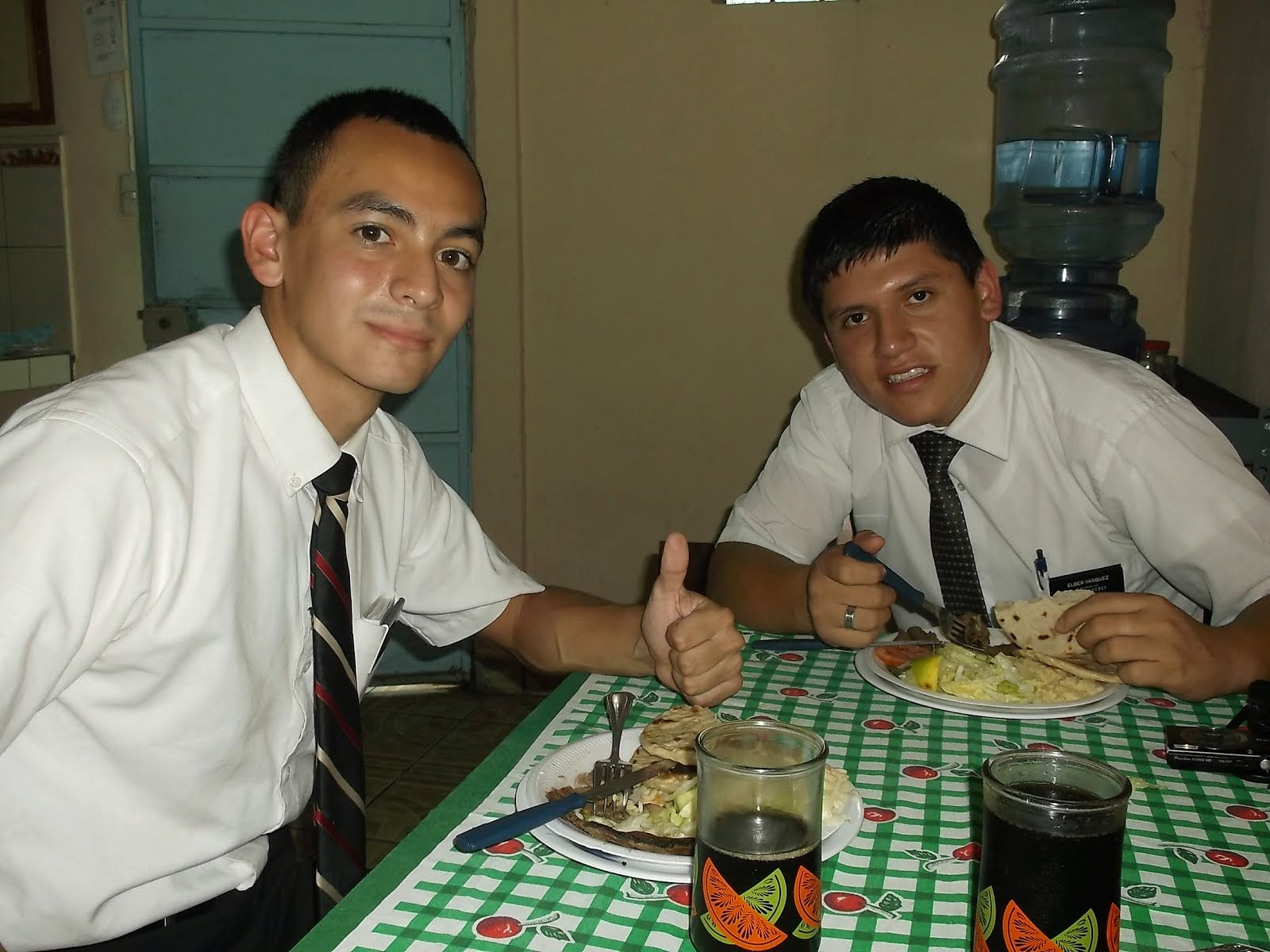 Elder Haynie and Elder Vasquez