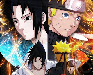 Wallpaper Naruto vs Sasuke gratis