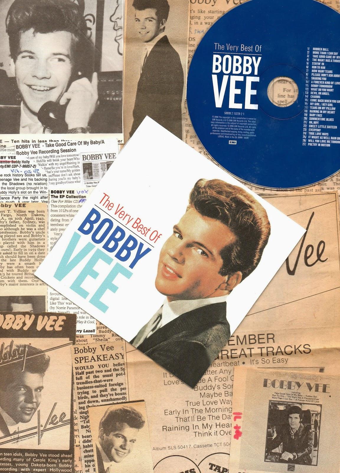 MUSIC PHOTO PRINT BOBBY VEE 02