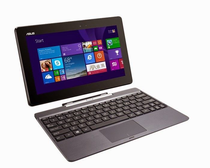 ASUS Transformer Book 10.1inch Detachable 2-in-1 Touch Laptop