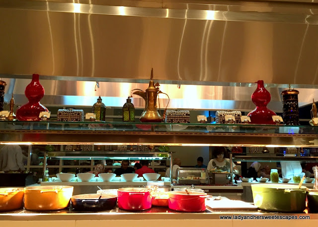 Buffet at Channels in Media Rotana