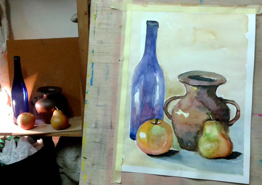 stilllife watercolor