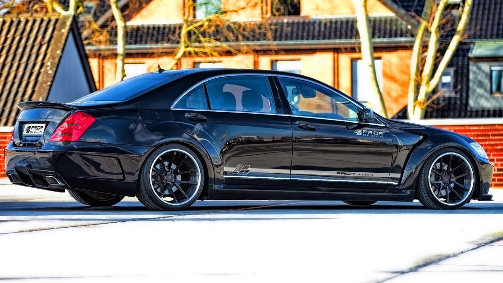 Prior design mercedes benz classe s w221 v2 widebody carwp for Mercedes benz design