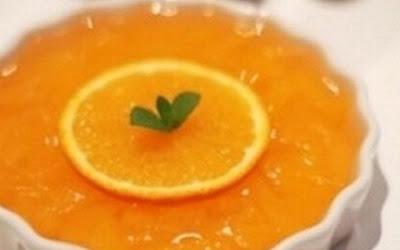 طريقة عمل  مهلبية البرتقال - اكل دوت نت