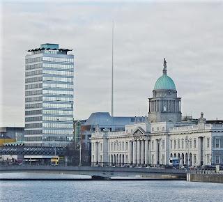 Dublín (Irlanda), centro cirudad. Foto:Trounce/Wikimedia Commons