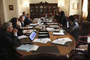 Madam Secretary - Episode 1.02 - Another Benghazi - Press Release