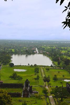 Wat Phou Museum in Pakse, Laos