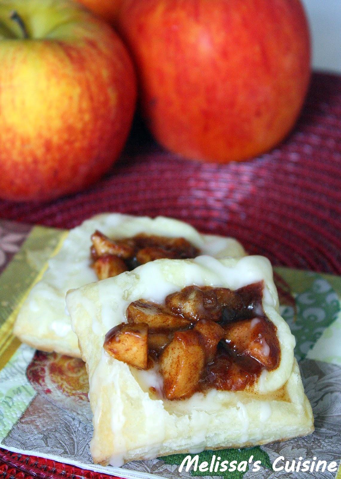 Melissa's Cuisine: Apple Cream Cheese Danish