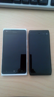 N950 and Lumia 900 togeather