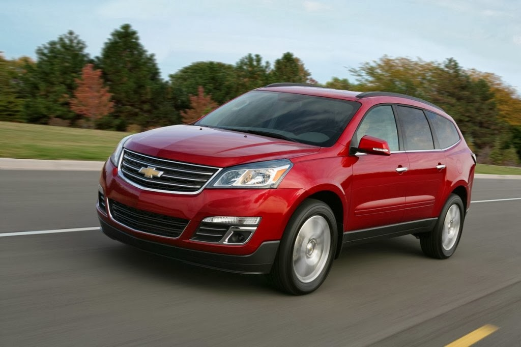 2014 Chevrolet Traverse One of 12 Best Family Cars