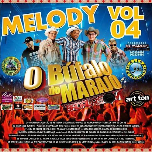 CD BUFALO DO MARAJÓ VOL.04 2015 - DJ MARUJO