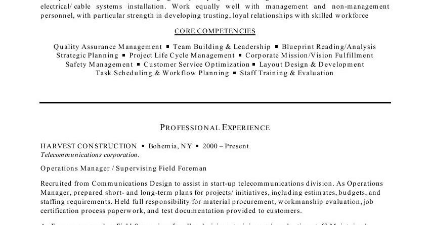 resume sles garbage truck driver resume