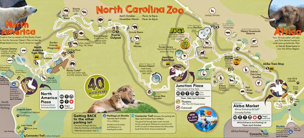 31 perfect North Carolina Zoo Map – bnhspine.com