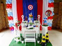Decoração festa infantil Porto Alegre - Os Vingadores