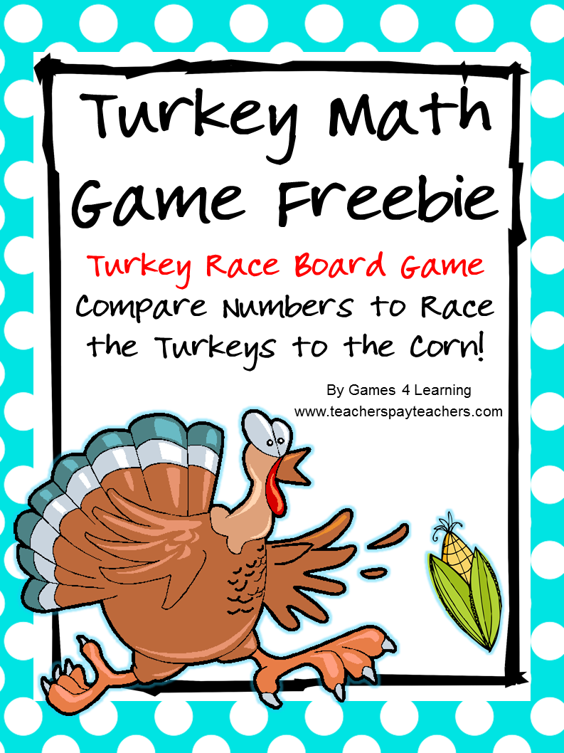 http://www.teacherspayteachers.com/Product/Turkey-Math-404786