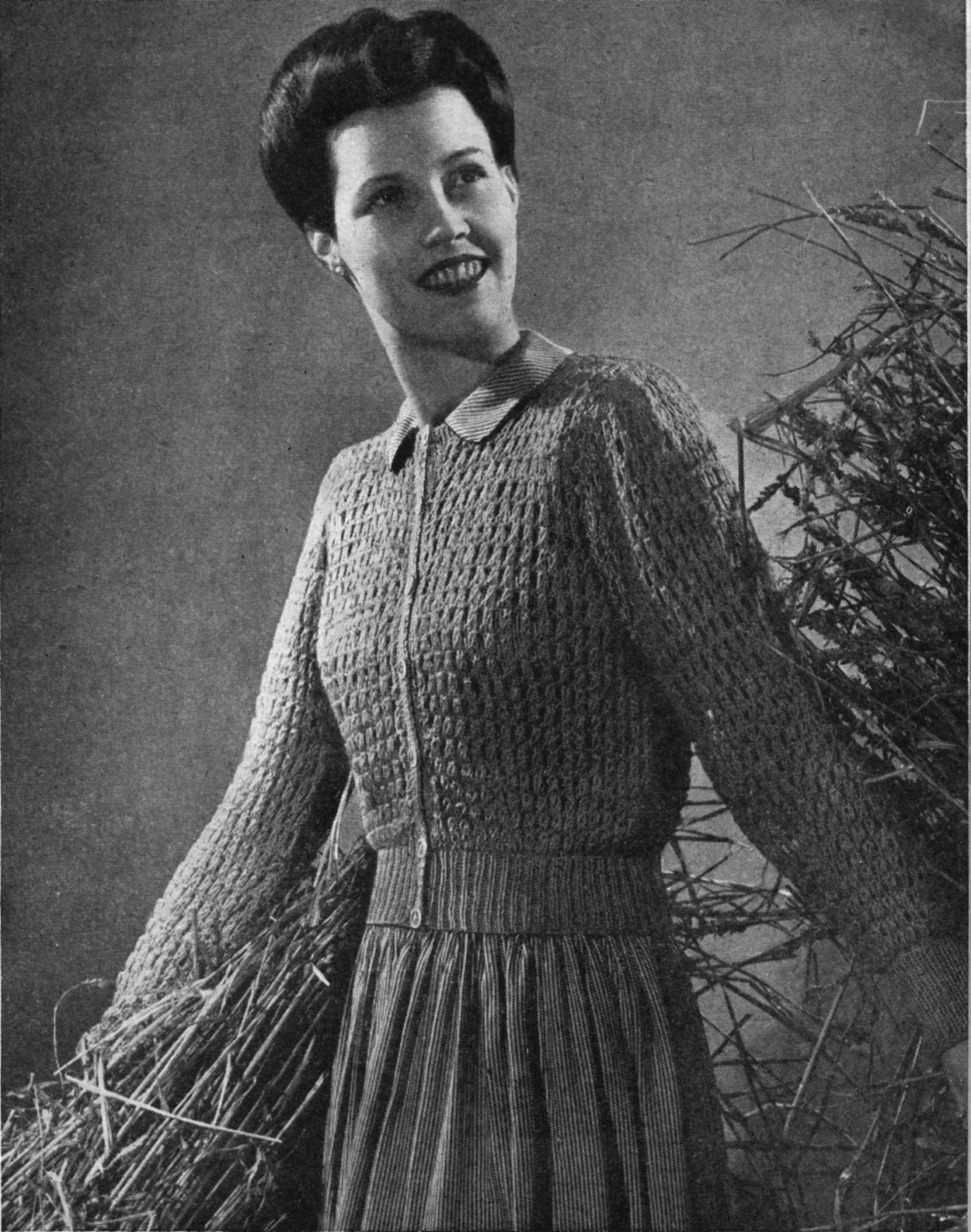 The Vintage Pattern Files: 1940\'s Knitting - Needlework Illustrated 1943