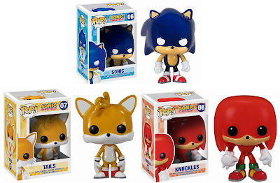 Sonic the Hedgehog Pop! Vinyl Figures by Funko - Sonic, Tails & Knuckles