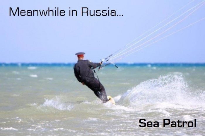 Meanwhile In Russia - Police Sea Patrol