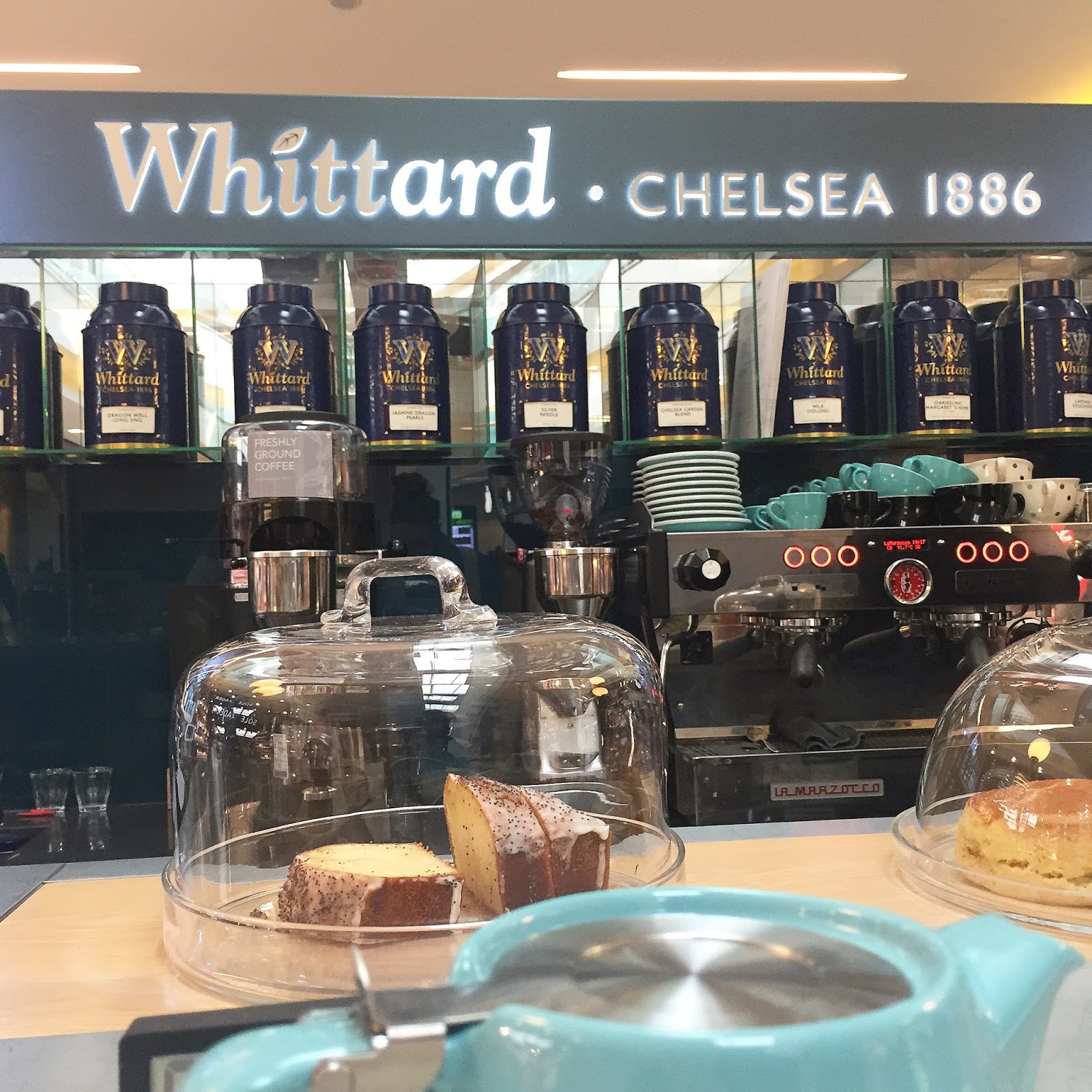 Whittard of Chelsea Tea Bar