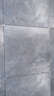 dalle noire anthracite carrelage grès cerame 20mm exterieur terrasse design
