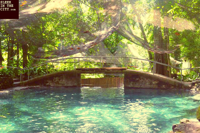 camiguin ardent hot spring bridge