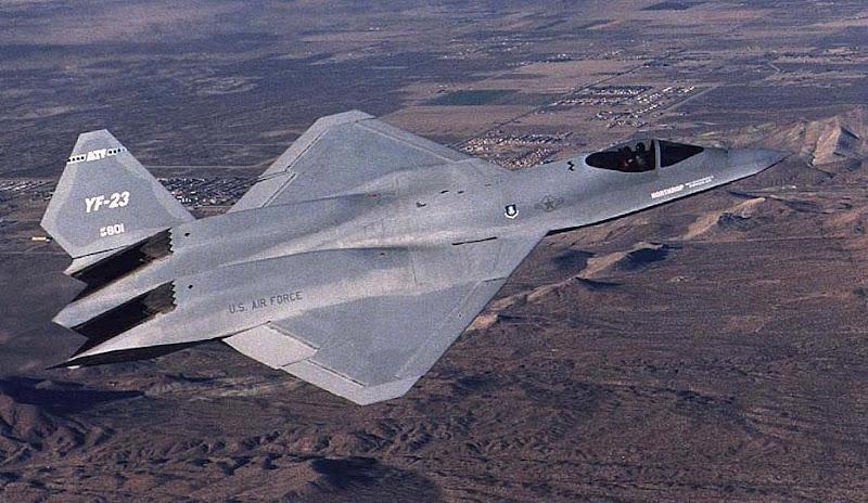 YF-23 Black Widow Tactical Fighter Prototypes