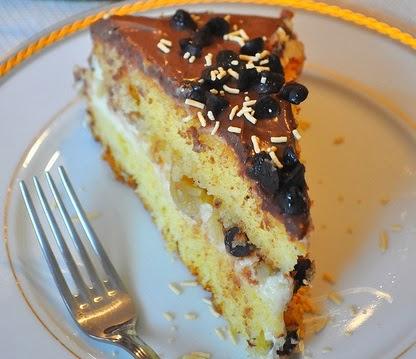 Kestaneli Çikolatalı Pasta Tarifi Yapımı