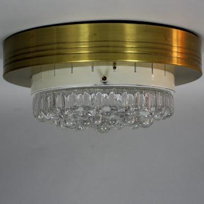 lámpara plafón años 60 vintage