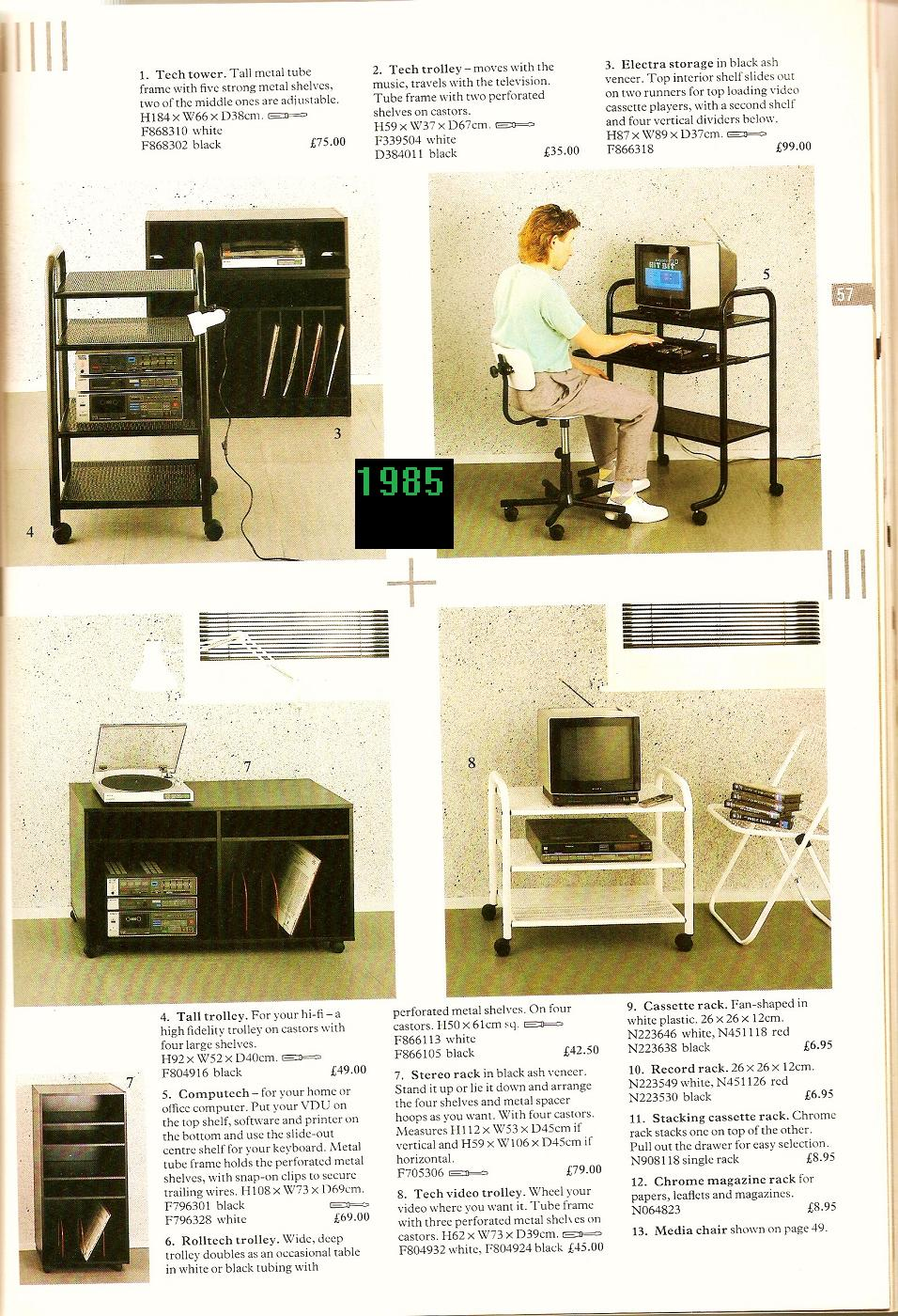 39 80s actual living life 39 80s style part 3 for 80s style furniture